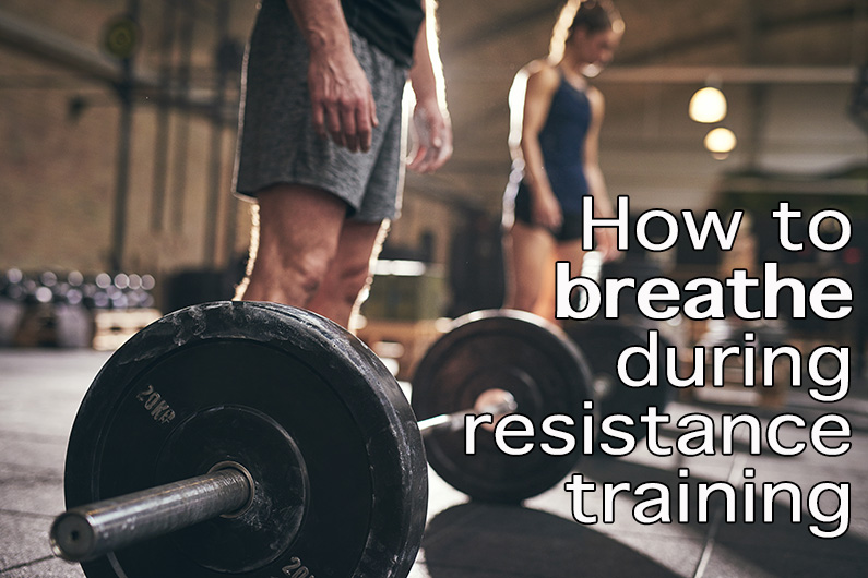 How to breathe during resistance training blog image